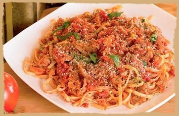 Picture of Meat Sauce Pasta